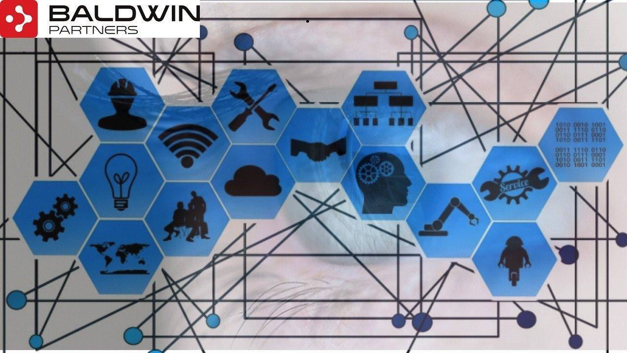 digitalisation de la chaine de valeur numérique chaine valeur baldwin partners Industrie 4.0 usine du futur conduite changement schéma directeur cybersécurité data