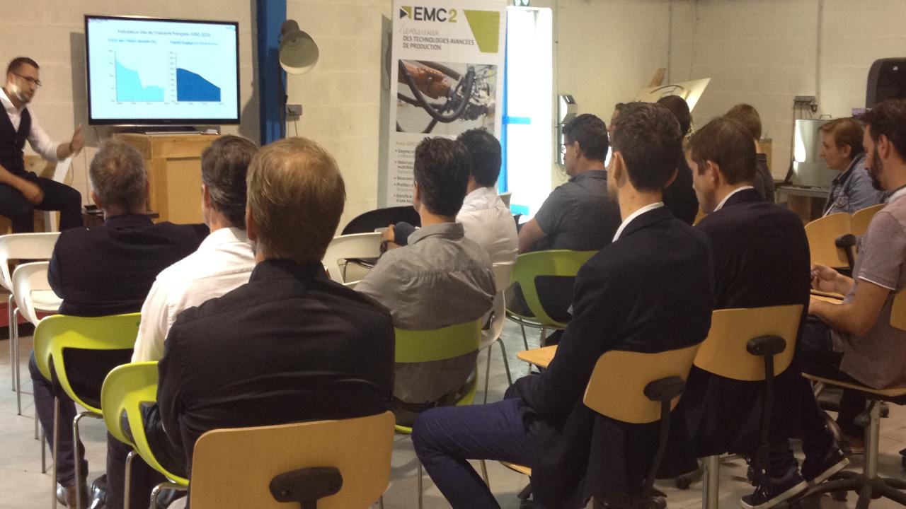 ma manufactuer emC2 baldwin partners conférence industrie 4.0 industrie du futur